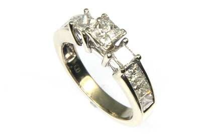 1.50ctw Princess Cut Diamond Ring