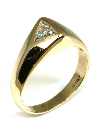 Men's 1/2ct Trillion Diamond Ring