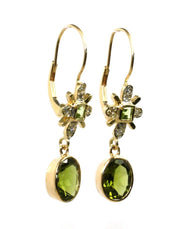 Peridot Dangle Earring