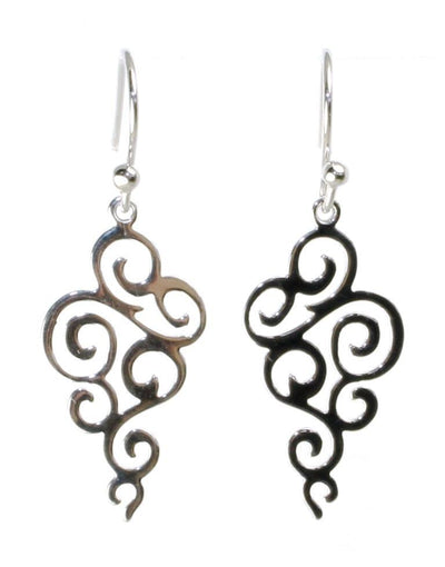 Swirl Drop Earrings, 5905