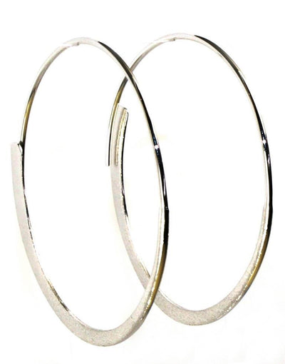 Eclipse Round Hoop Earrings, 5911