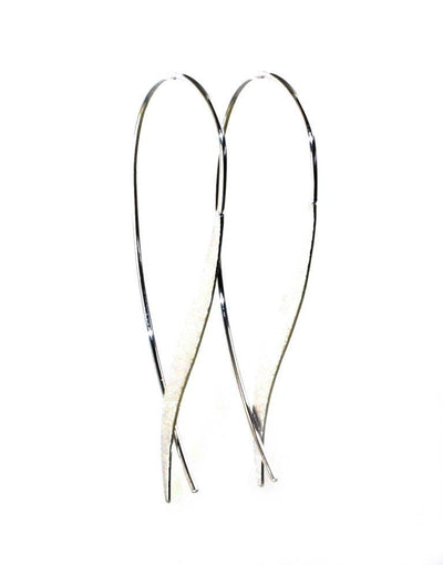 Feather Wire Earrings, 5921