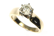1.03 Carat Round Diamond Solitaire Ring