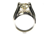 4.06ct Diamond Solitaire Ring