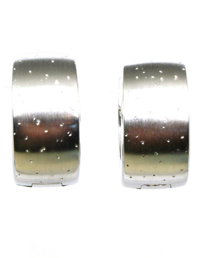 Diamond Dust Huggie Hoop Earring, 6044
