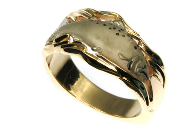 Salmon Men's Ring
