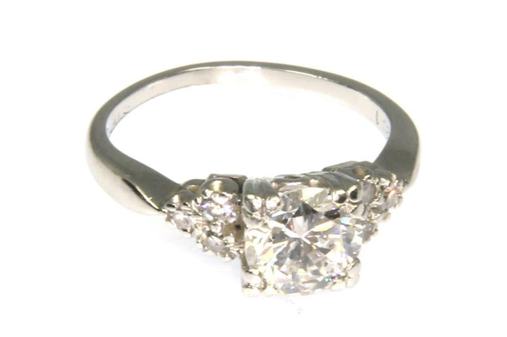 1.12ctw Round Diamond Ring