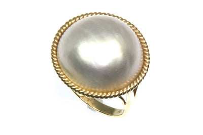 Mabe Large Pearl Ring