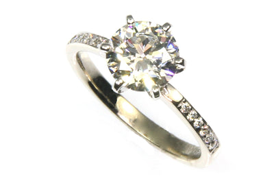 1.52ct Round Diamond Ring