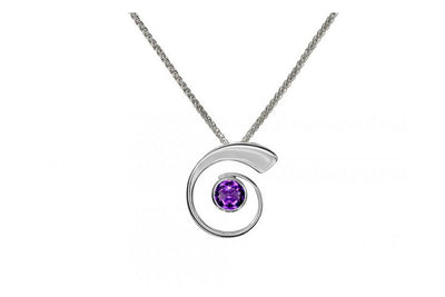 Nautilus Amethyst Necklace