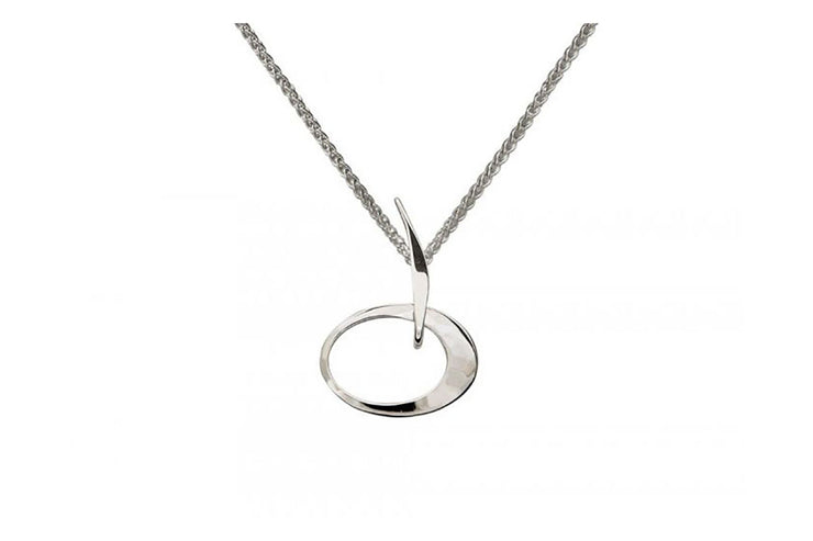 Petite Elliptical Necklace