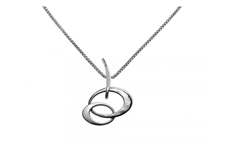 Petite Entwined Elegance Necklace