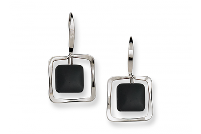 Zenith Onyx Earrings