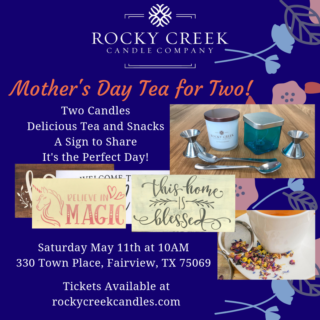Mother's Day Tea for Two!