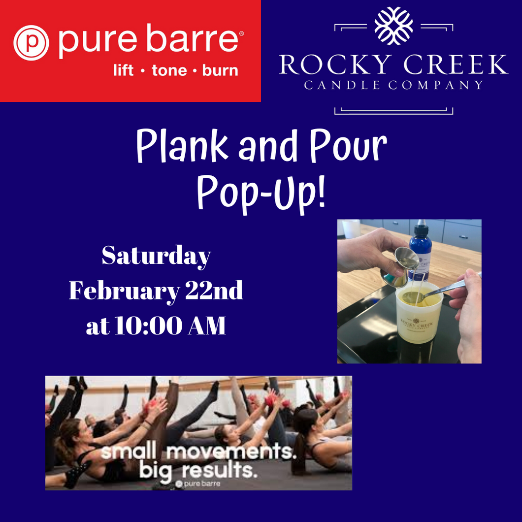 Plank and Pour Pop-Up!
