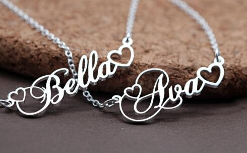 My Name Necklace (Custom Design with Your Name)