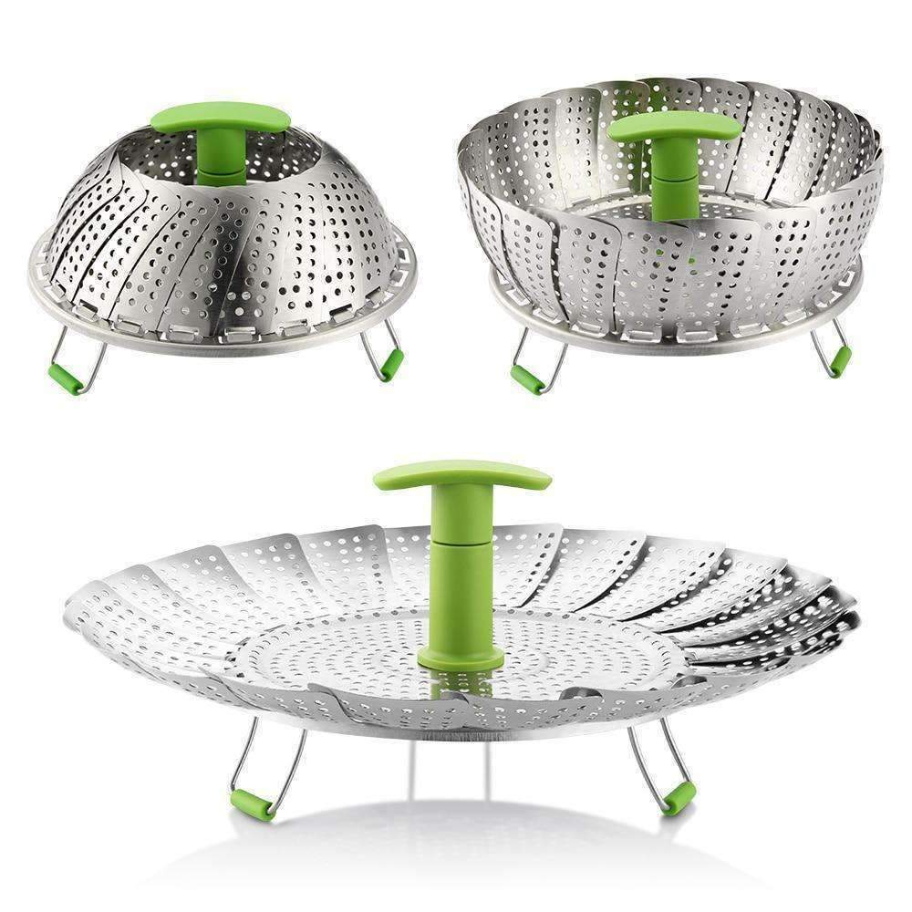 Collapsible Food Steamer Basket-Purfect Gifts