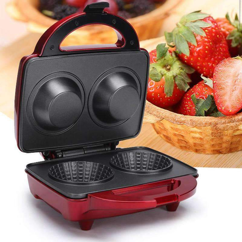 Electric Waffle Bowl Maker
