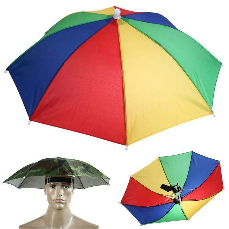 Hands-Free Umbrella Hat-Purfect Gifts