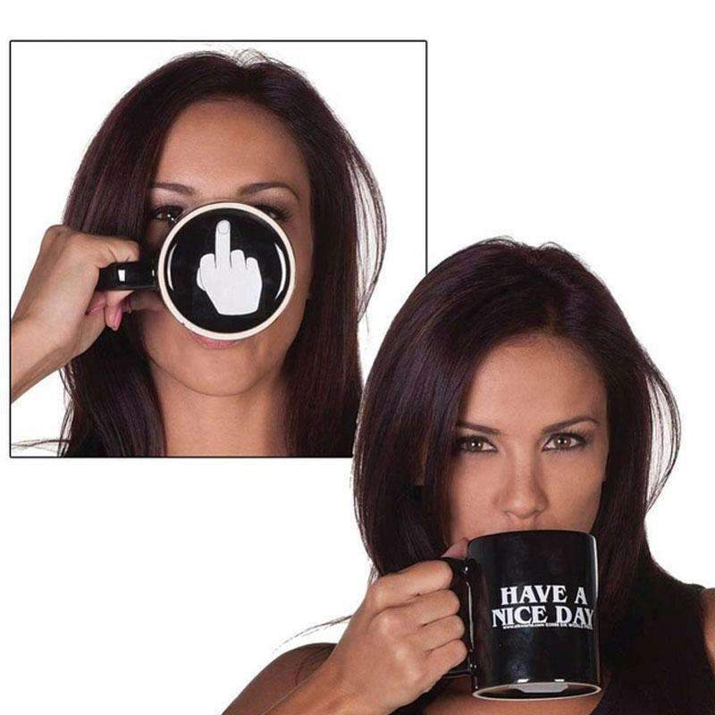 Middle Finger Mug-Purfect Gifts