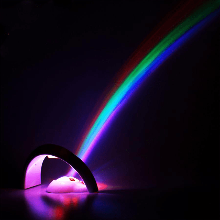 Rainbow Night Light Projector-Purfect Gifts