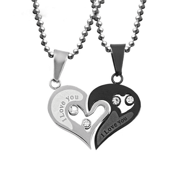 Stainless Steel Love Necklace-Purfect Gifts
