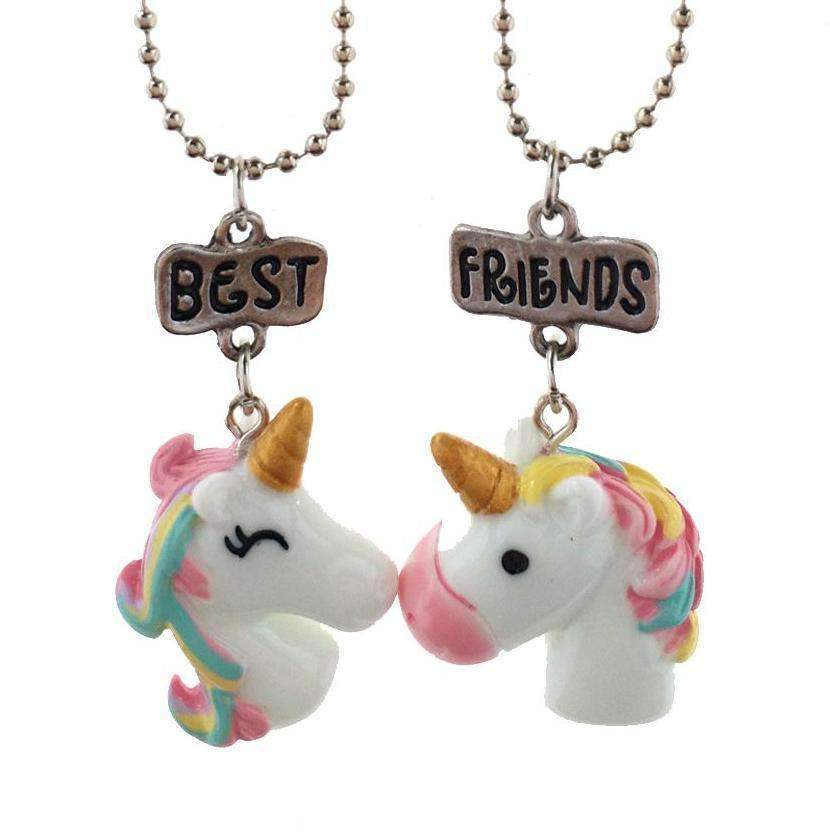 Unicorny BFF Necklaces-Purfect Gifts