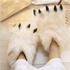 Yeti Paws Fuzzy Slippers-Purfect Gifts
