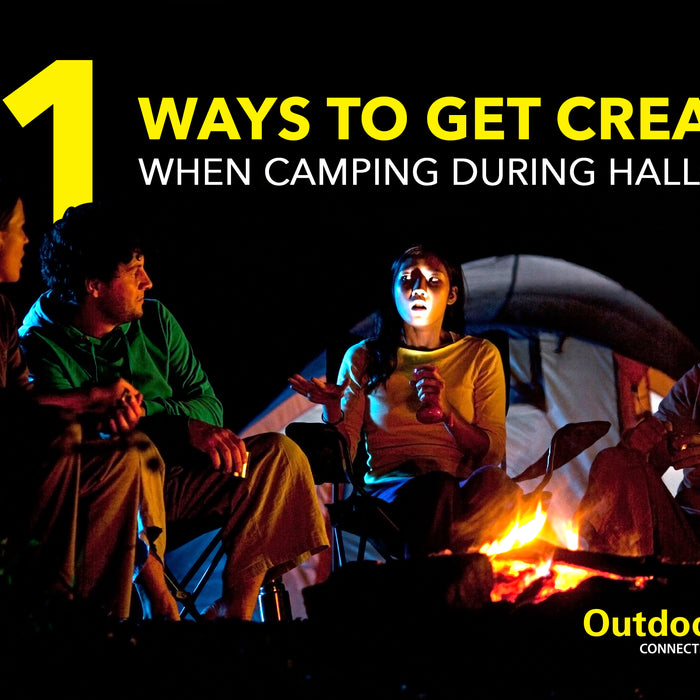 11 Ways to get creative when camping during Halloween