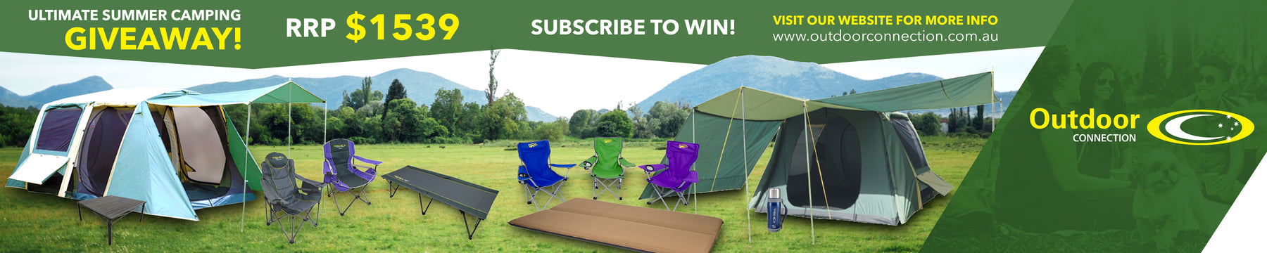 Ultimate Summer Camping Giveaway