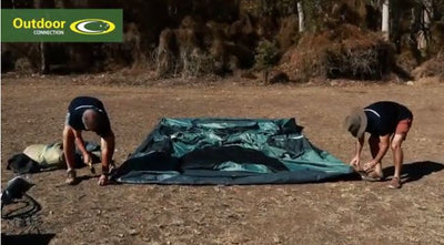 How to Set-Up and Pack-Up the Outdoor Connection Aria Elite 2 Air Tent