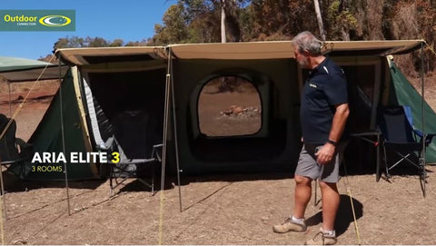 The Aria Elite Range by www.outdoorconnection.com.au