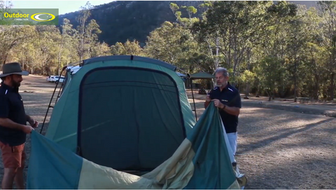 How to Set-Up and Pack Up the Outdoor Connection Galaxy Tent