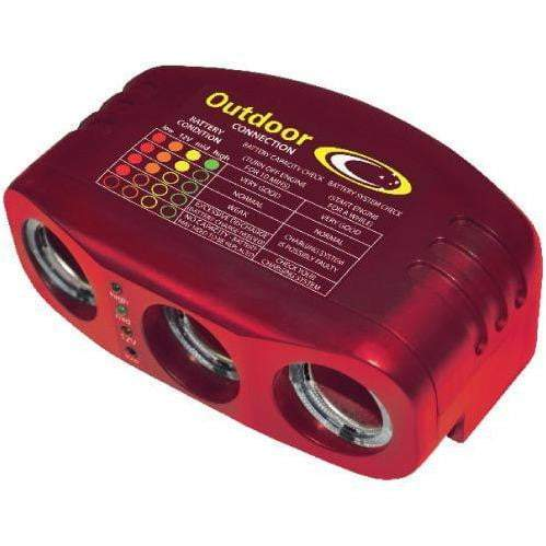 Outdoor Connection Triple 12V Power Outlet - Outdoor Connection