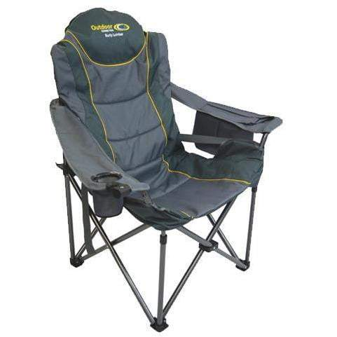 Outdoor Connection Burly Lumbar Quad Fold Chair