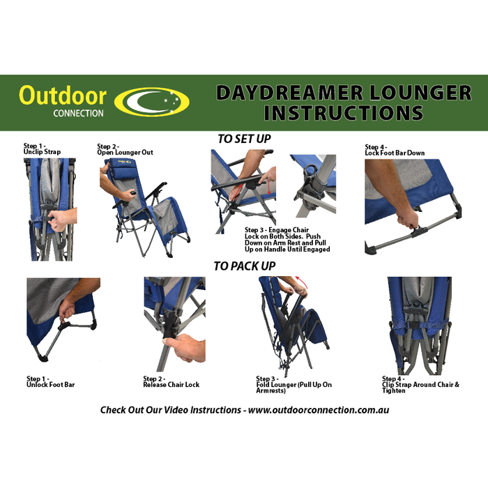 Outdoor Connection Daydreamer Lounger Chair