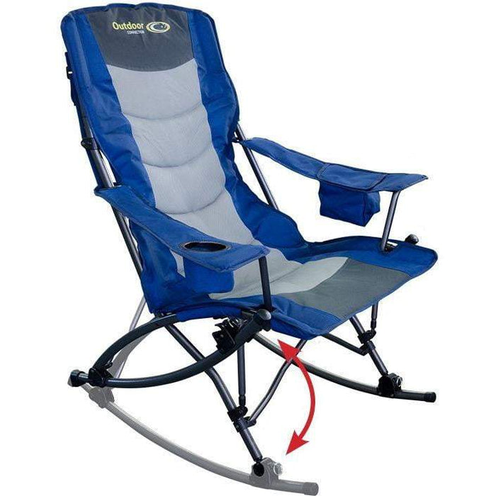 Outdoor Connection King Rocker Quad Fold Chair