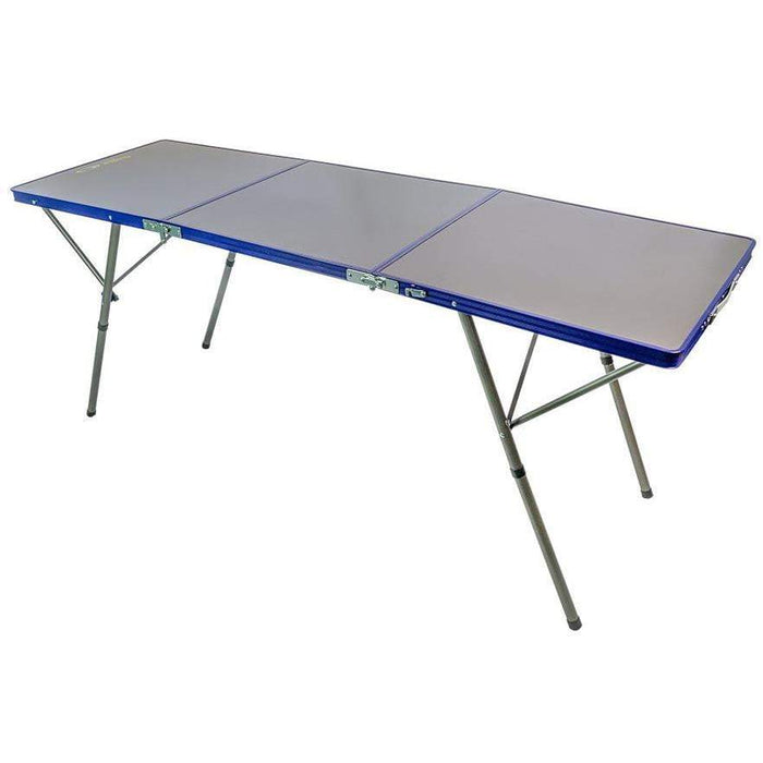 Outdoor Connection Dual Height Trifold Table