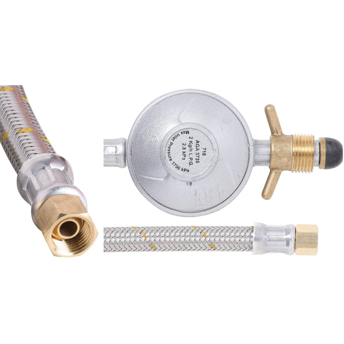 Outdoor Connection Hose Gas Stainless Steel