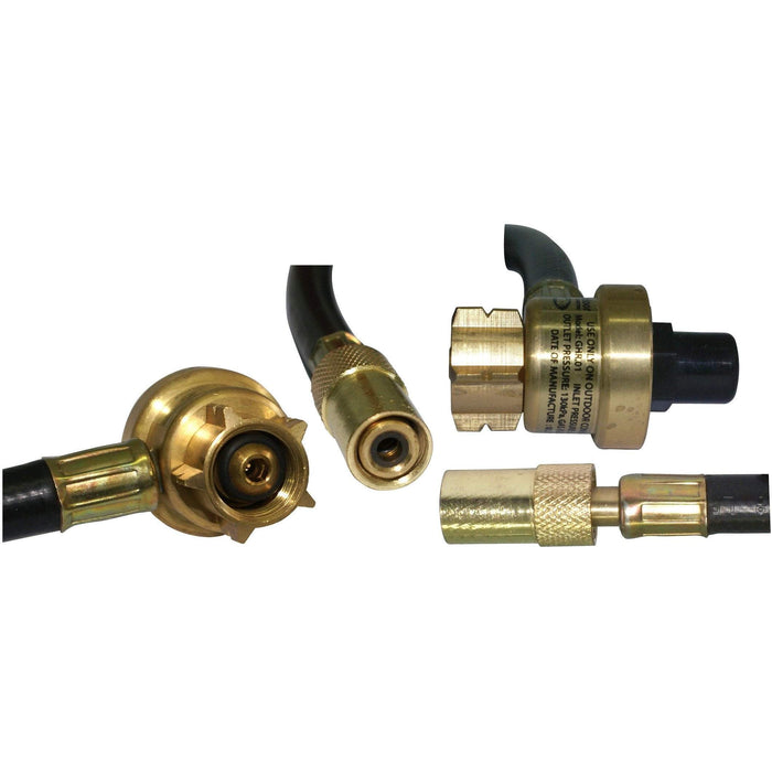 Outdoor Connection Stove Regulated Hose