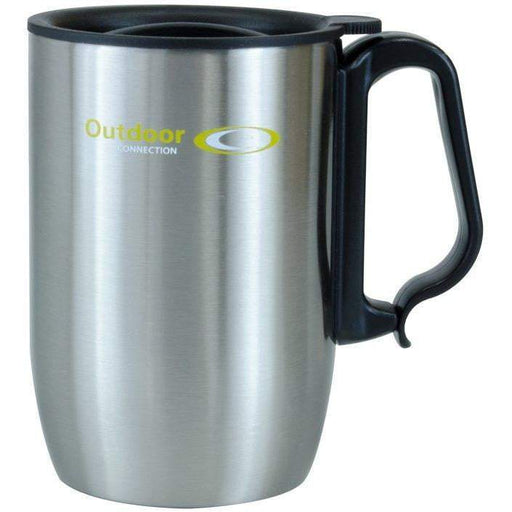 Outdoor Connection Stainless Steel Coffee Mug