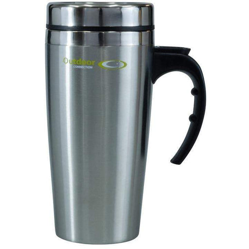 Outdoor Connection 450ml Stainless Steel Travel Mug - Outdoor Connection