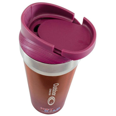 Outdoor Connection Two Toned Finish Vacuum Insulated Mug
