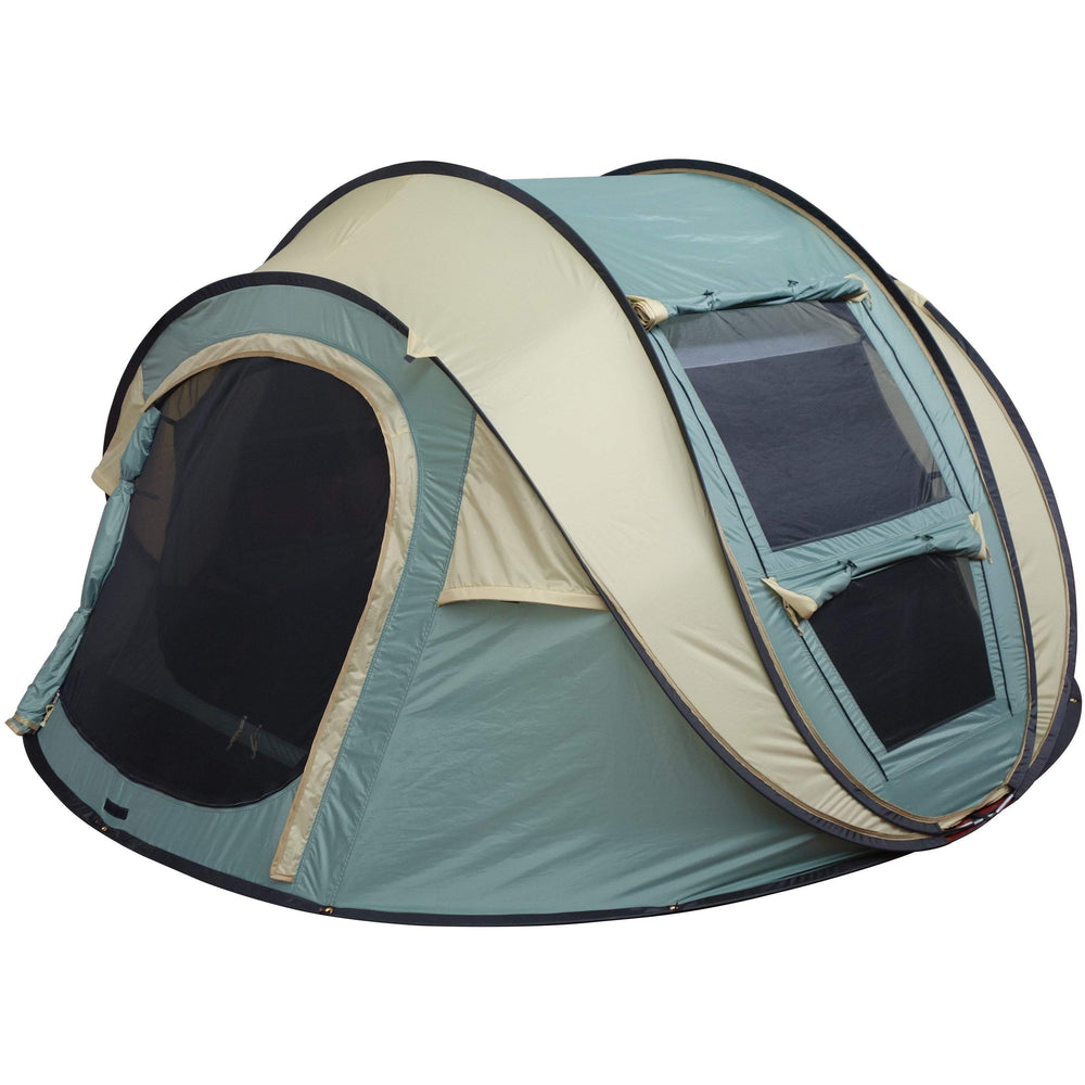 Outdoor Connection Easy Up 4 Dome Tent