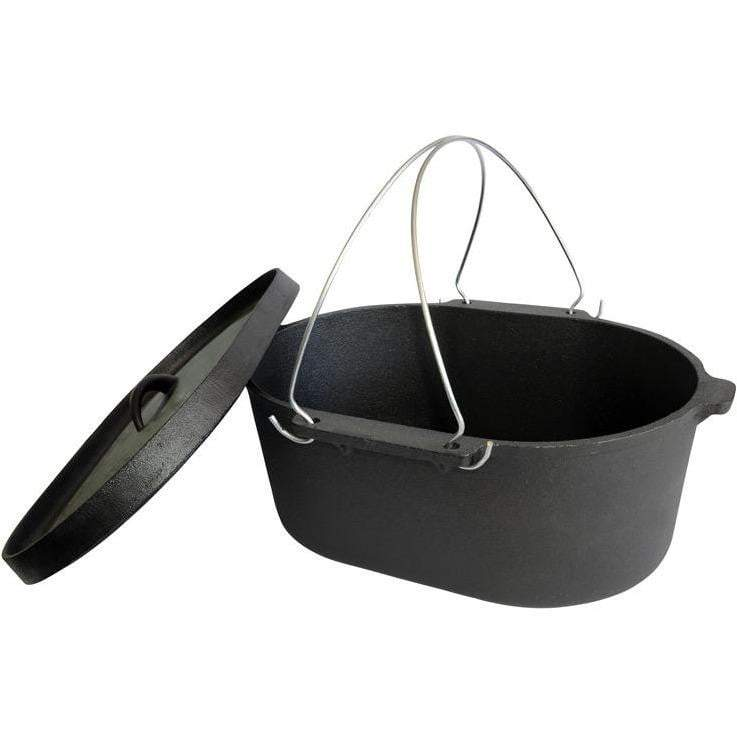 Outdoor Connection Camp Oven - Oval - 10 Qt (Lip Lid)