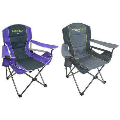 Outdoor Connection Lumbar Quad Fold Chair