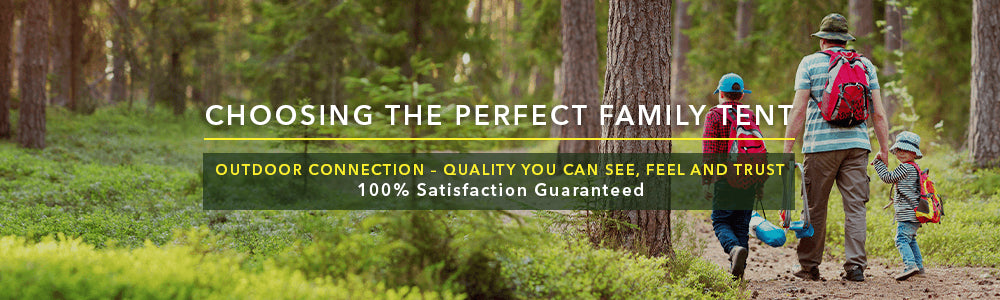 Choosing the perfect family tent banner