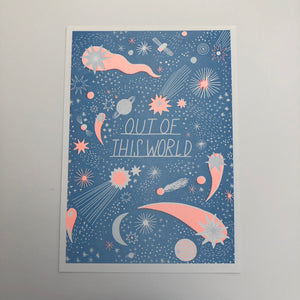 Out of This  World Print