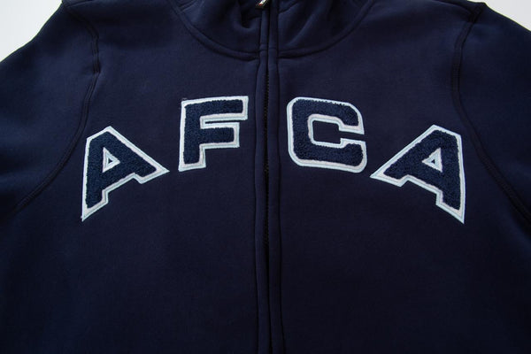 vest AFCA Navy/Ice zipped