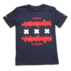 T-shirt AFCA Skyline navy